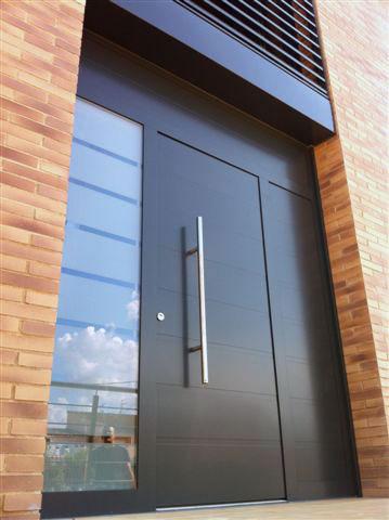 Puerta corredera prat - Puertas de hierro exterior ...
