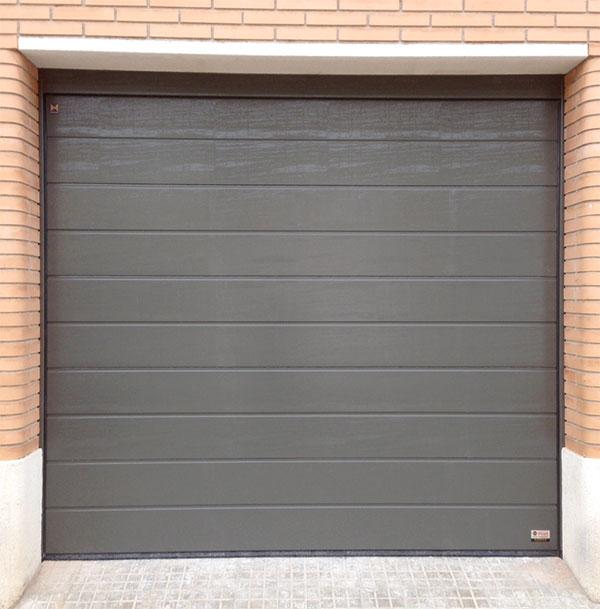 puerta seccional de garaje prat