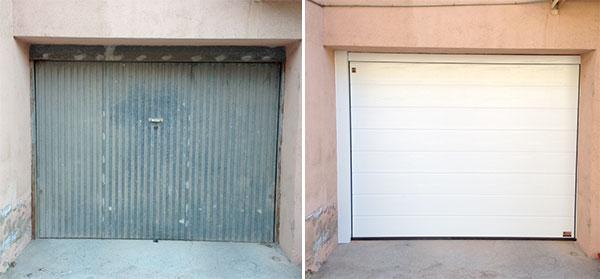 renovacion puerta garaje