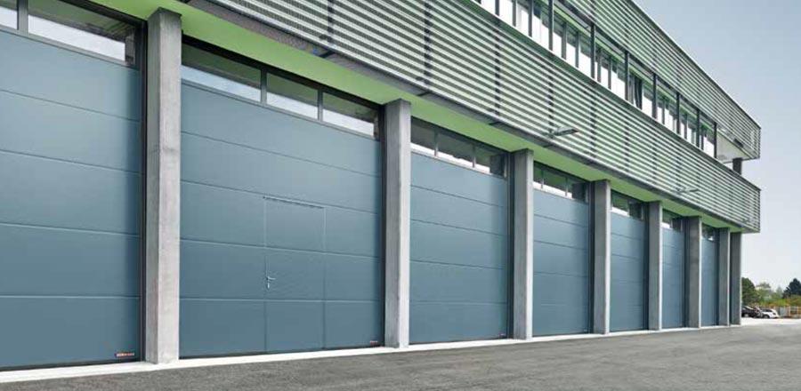 Puertas industriales seccionales prat for Puertas industriales